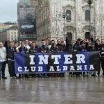2 - Inter Club Albania ne Duomo te Milanos diten e ndeshjes me Sienen