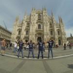 Ne Duomo me bluzat e Kapitenit.