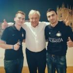 Juxhini, Erioni dhe drejtuesi i Interit sig. Sergio Spairani.